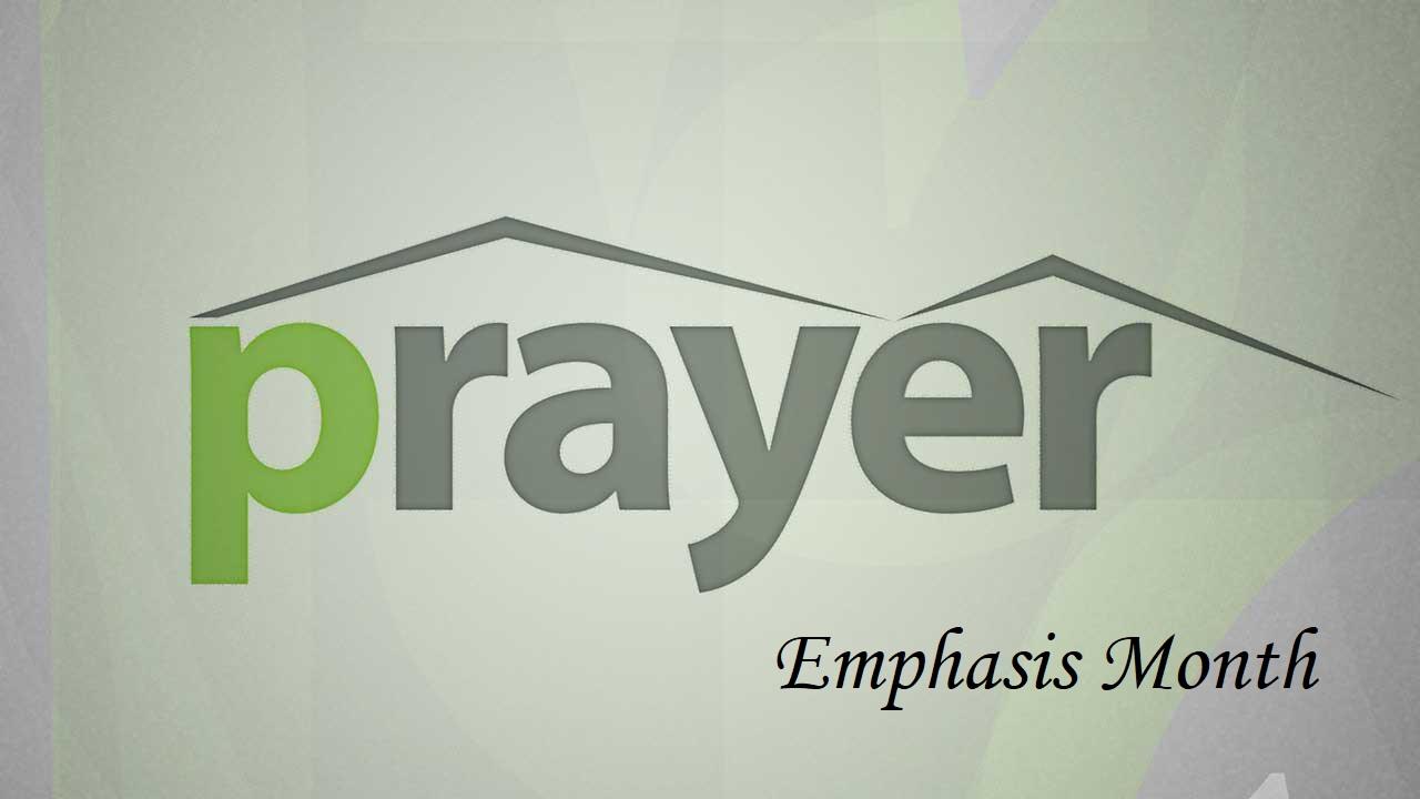 prayer emphasis