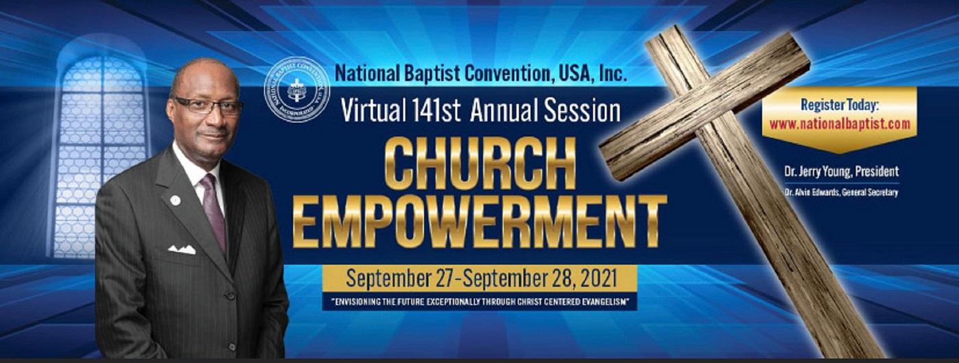 2021 National Baptist Convention USA, Inc. Banner